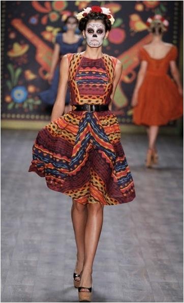 d4a98aa2db La huella de la cultura mexicana en la moda